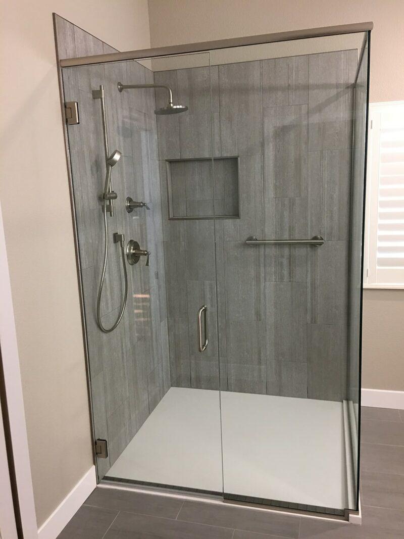 Encompass Shower Bases-Glass Ledge