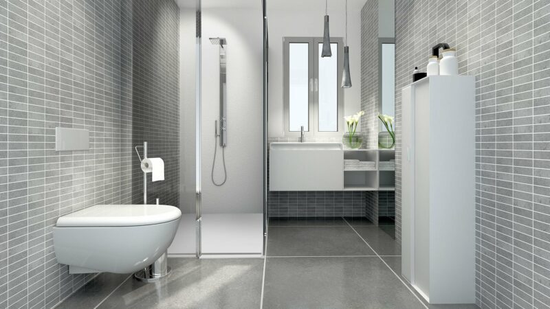Encompass Shower Bases- Open format Bathroom with Curbless Shower